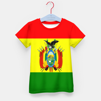 Thumbnail image of Flag of Bolivia Kid's t-shirt, Live Heroes