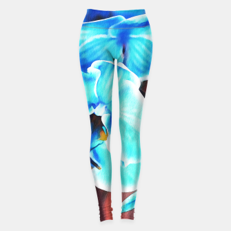 Thumbnail image of Blue orchid Leggings, Live Heroes
