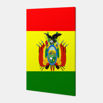 Thumbnail image of Flag of Bolivia Canvas, Live Heroes