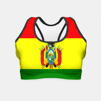 Thumbnail image of Flag of Bolivia Crop Top, Live Heroes