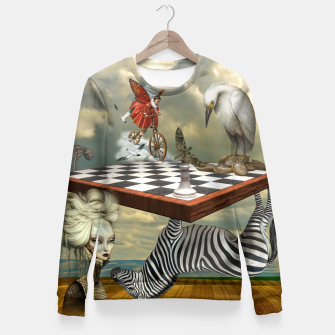 Thumbnail image of Collage LXXVI Woman cotton sweater, Live Heroes
