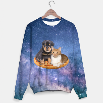 Thumbnail image of Cat and Dog  Cotton sweater, Live Heroes