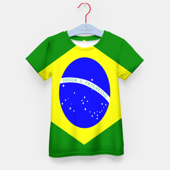 Thumbnail image of Flag of Brazil  Kid's t-shirt, Live Heroes