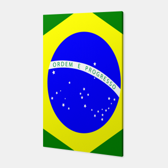 Thumbnail image of Flag of Brazil  Canvas, Live Heroes