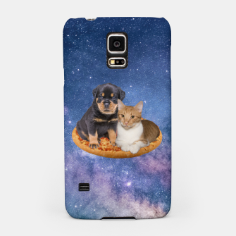 Thumbnail image of Cat and Dog  Samsung Case, Live Heroes