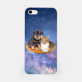 Thumbnail image of Cat and Dog  iPhone Case, Live Heroes