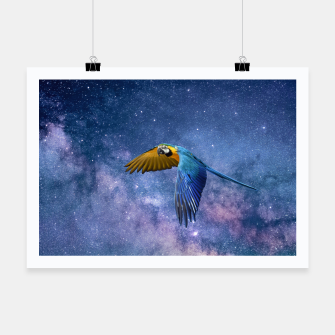 Thumbnail image of Parrot Poster, Live Heroes