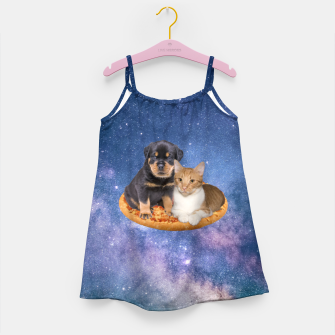 Thumbnail image of Cat and Dog  Girl's dress, Live Heroes