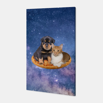 Thumbnail image of Cat and Dog  Canvas, Live Heroes