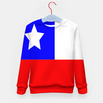 Miniaturka Flag of Chile Kid's sweater, Live Heroes