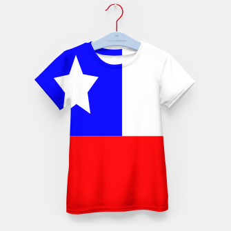 Thumbnail image of Flag of Chile Kid's t-shirt, Live Heroes