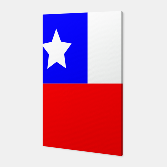 Thumbnail image of Flag of Chile Canvas, Live Heroes