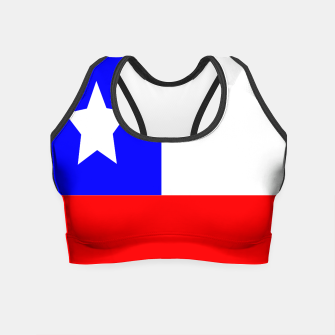 Thumbnail image of Flag of Chile Crop Top, Live Heroes