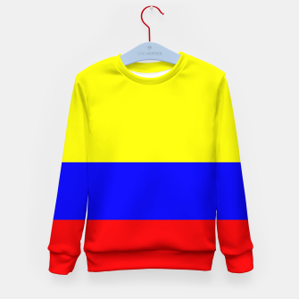 Miniaturka Flag of Colombia Kid's sweater, Live Heroes