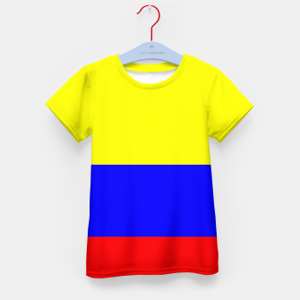 Thumbnail image of Flag of Colombia Kid's t-shirt, Live Heroes