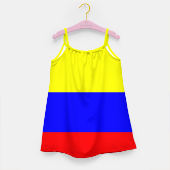Thumbnail image of Flag of Colombia Girl's dress, Live Heroes