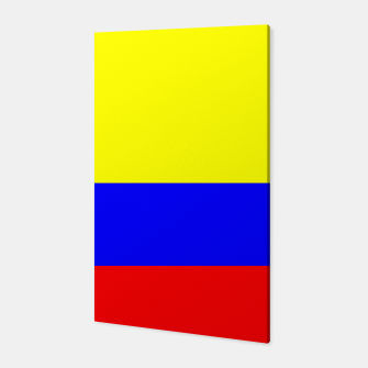 Thumbnail image of Flag of Colombia Canvas, Live Heroes