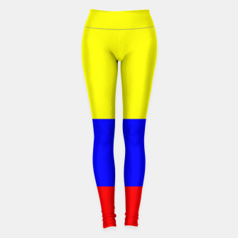 Thumbnail image of Flag of Colombia Leggings, Live Heroes