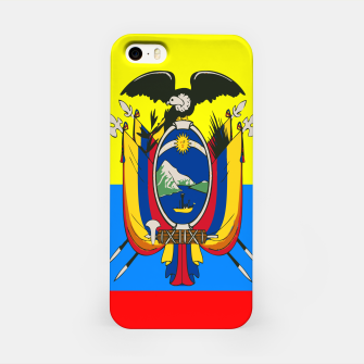 Thumbnail image of Flag of Ecuador iPhone Case, Live Heroes