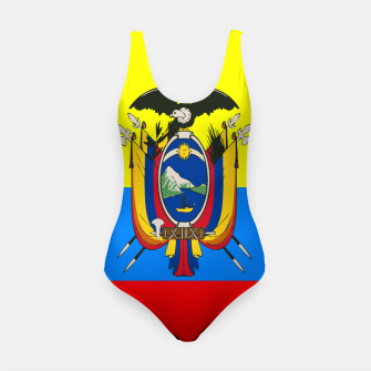 Thumbnail image of Flag of Ecuador Swimsuit, Live Heroes