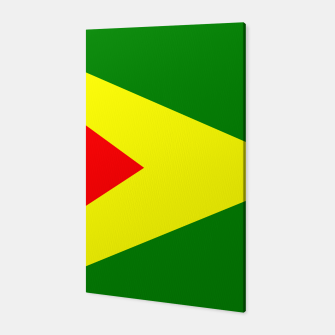 Thumbnail image of Flag of Guyana Canvas, Live Heroes