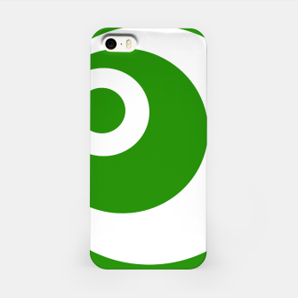 Thumbnail image of Abstract pattern - green and white. iPhone Case, Live Heroes