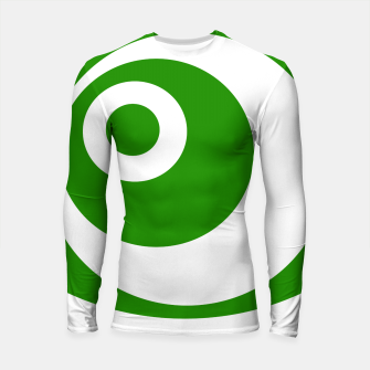 Thumbnail image of Abstract pattern - green and white. Longsleeve rashguard , Live Heroes