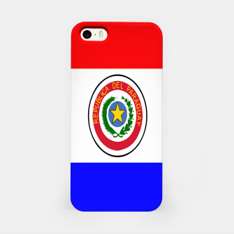 Thumbnail image of Flag of Paraguay  iPhone Case, Live Heroes