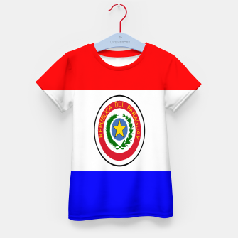 Thumbnail image of Flag of Paraguay  Kid's t-shirt, Live Heroes