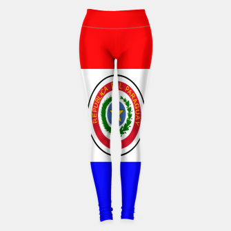 Thumbnail image of Flag of Paraguay  Leggings, Live Heroes