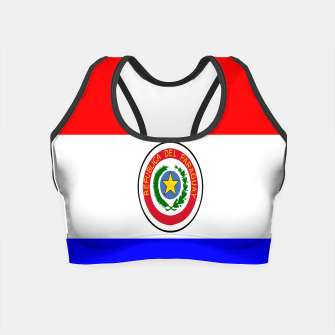 Thumbnail image of Flag of Paraguay  Crop Top, Live Heroes