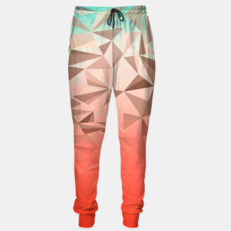 Thumbnail image of Falling Gems Cotton sweatpants, Live Heroes
