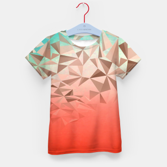 Thumbnail image of Falling Gems Kid's t-shirt, Live Heroes