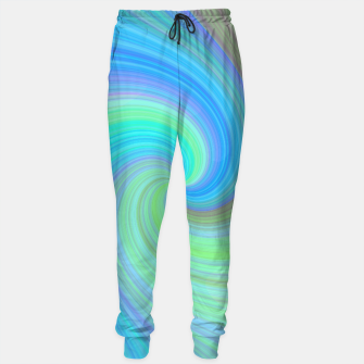 Miniatur Blue Vortex  Cotton sweatpants, Live Heroes