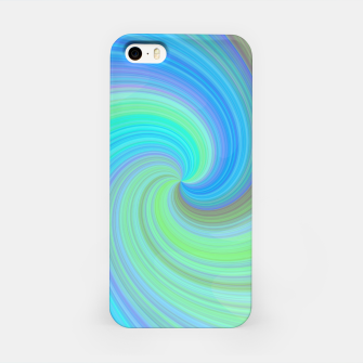 Blue Vortex  iPhone Case obraz miniatury