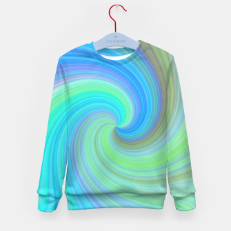 Miniaturka Blue Vortex  Kid's sweater, Live Heroes