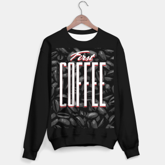 Thumbnail image of First COFFEE Sweater regular, Live Heroes