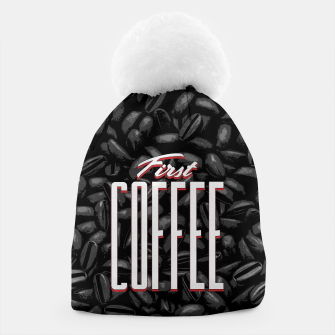 Thumbnail image of First COFFEE Beanie, Live Heroes