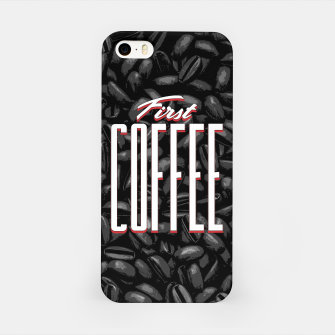 Thumbnail image of First COFFEE iPhone Case, Live Heroes