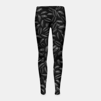 Thumbnail image of First COFFEE Girl's leggings, Live Heroes