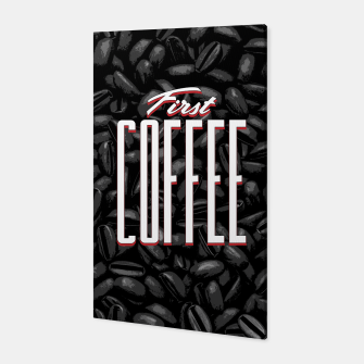 Thumbnail image of First COFFEE Canvas, Live Heroes