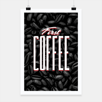 Thumbnail image of First COFFEE Poster, Live Heroes