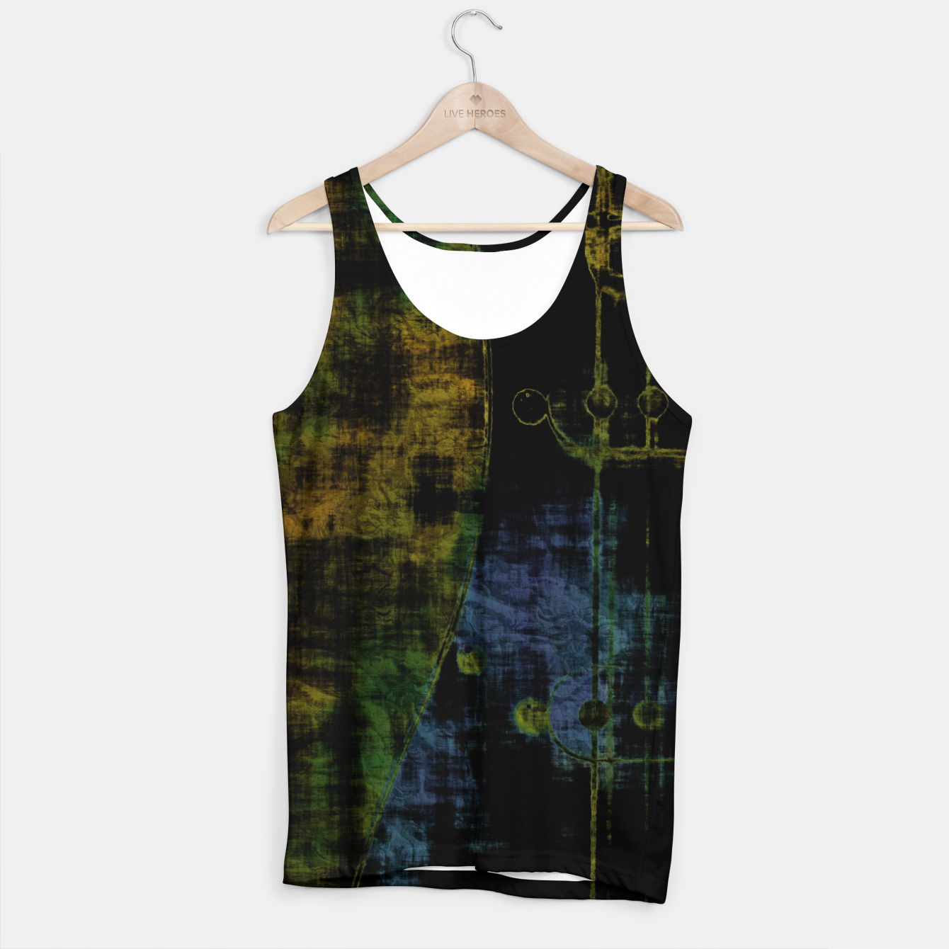Image of Deluminated Tank Top - Live Heroes