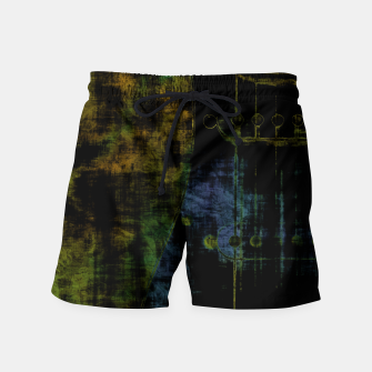 Thumbnail image of Deluminated Swim Shorts, Live Heroes
