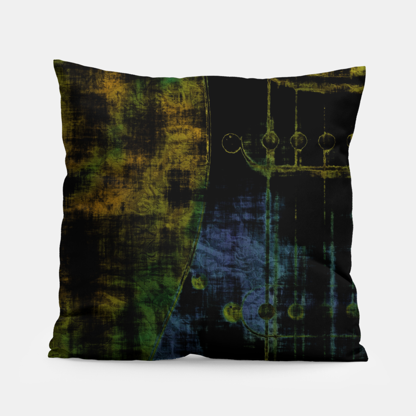 Image of Deluminated Pillow - Live Heroes