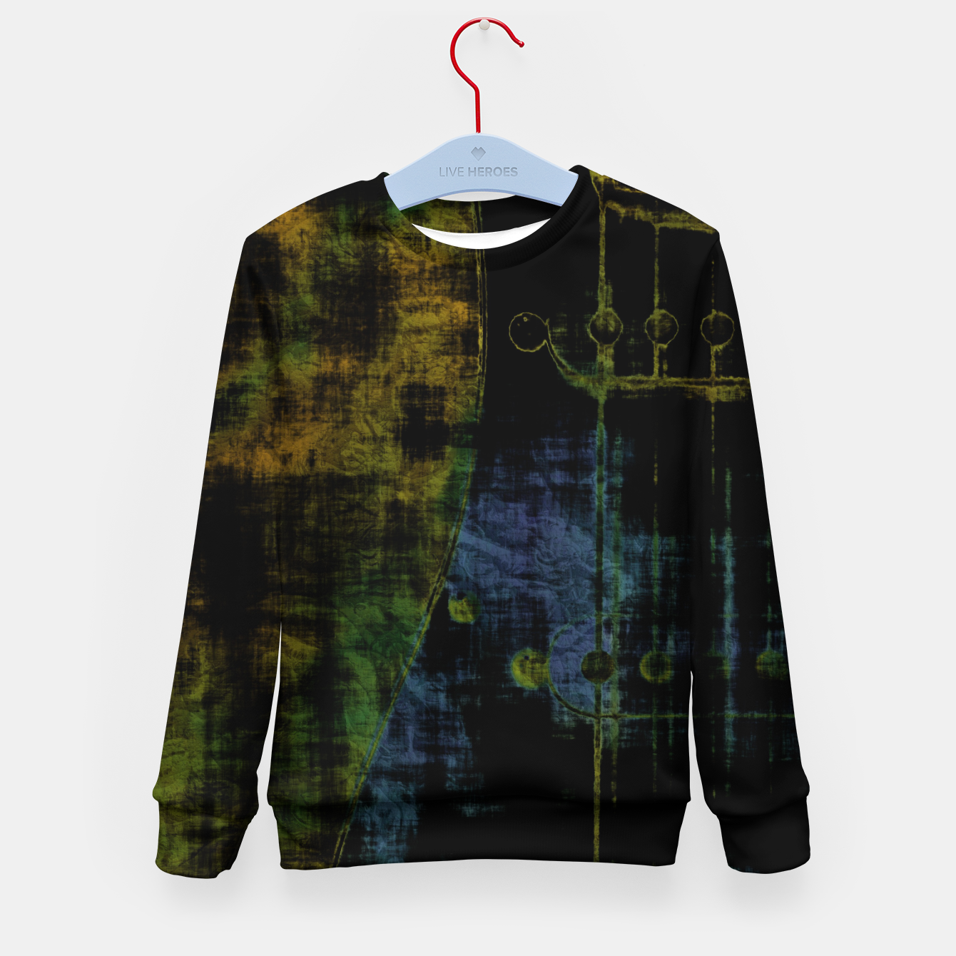 Image of Deluminated Kid's sweater - Live Heroes