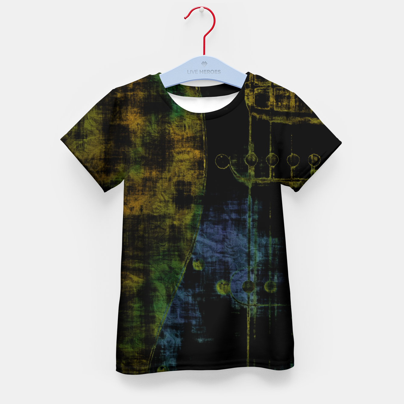 Image of Deluminated Kid's t-shirt - Live Heroes