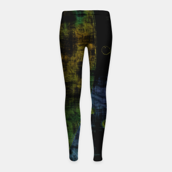 Thumbnail image of Deluminated Girl's leggings, Live Heroes