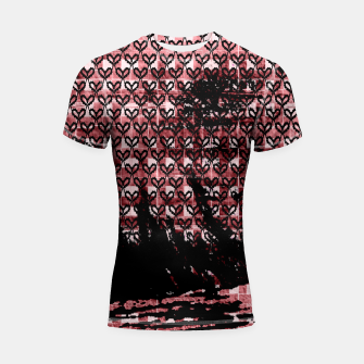 Thumbnail image of  PAISELY BY BLACK HEARTS Shortsleeve rashguard, Live Heroes
