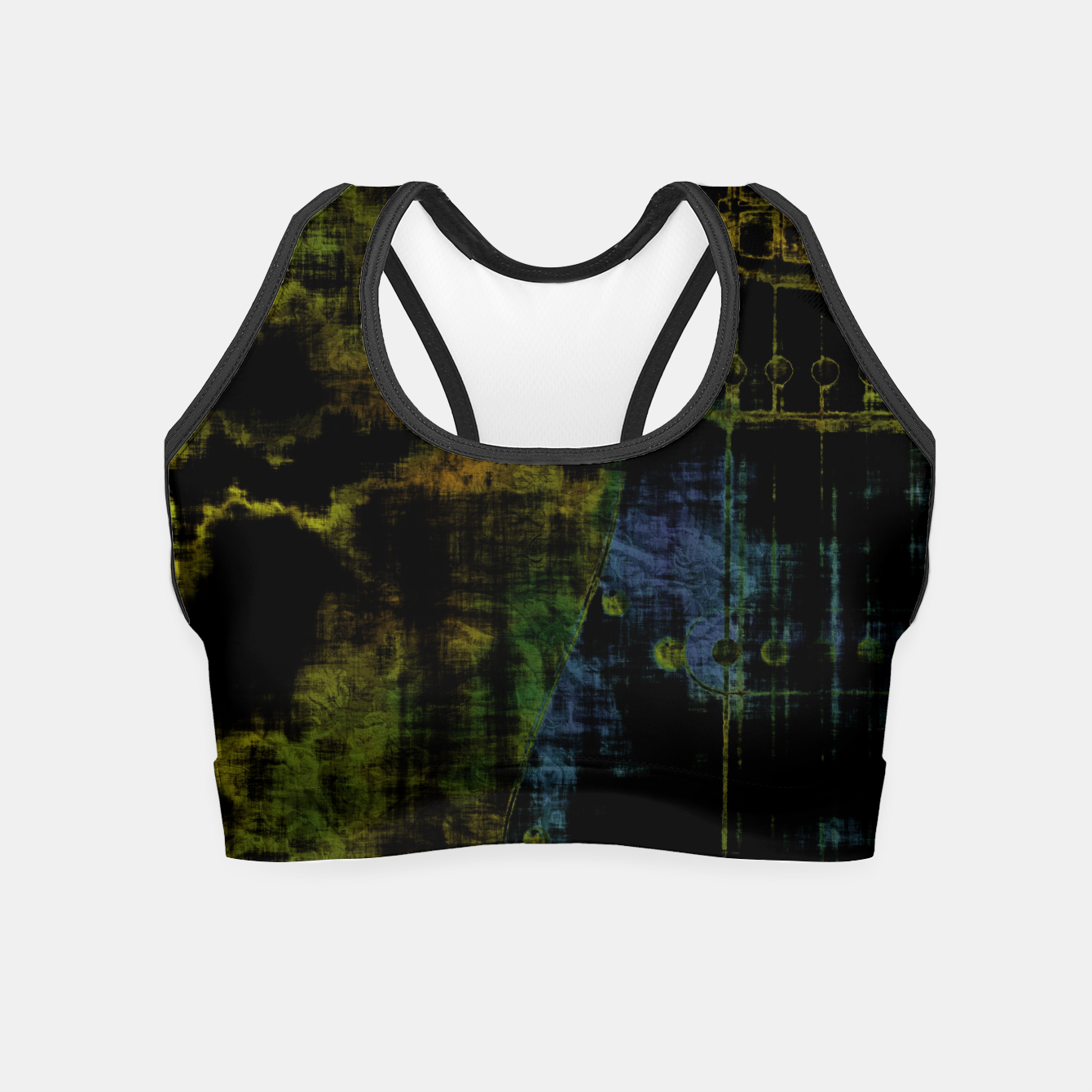 Image of Deluminated Crop Top - Live Heroes